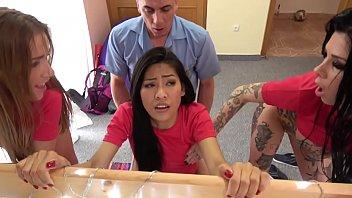 ดูหนังเอ็กซ์ Porn xxx ดูหนังโป๊ใหม่ฟรี HD Fake Hostel Italian Thai and Czech soccer babes squirting in crazy orgy