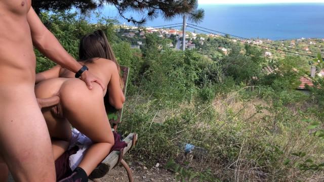 ดูหนังเอ็กซ์ Porn xxx ดูหนังโป๊ใหม่ฟรี HD BURNING HOT ASS TO PUSSY AT MOUNTAIN WITH SEA SIGHT